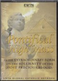 Pontifical High Mass in the Extraordinary Form on … July 1, 2009   [DVD]