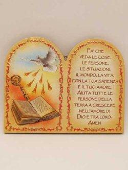 画像1: イタリア直輸入 プラスチック製卓上飾り(堅信)