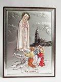 イタリア直輸入SILVER製卓上置物(ファティマの聖母)
