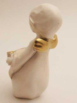 画像3: レジン製置物 巻物を持つ天使