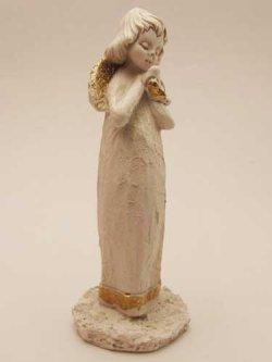 画像2: レジン製置物 鳩に語りかける天使