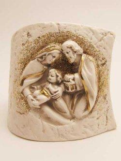 画像1: レジン製置物 聖家族