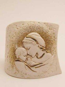 画像1: レジン製置物 聖母子(A)