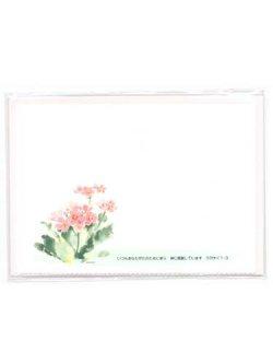 画像1: さくら草 ピンク 一筆箋