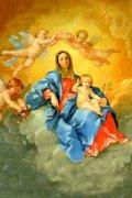フィデスポストカード 薔薇の聖母子 (5枚組)