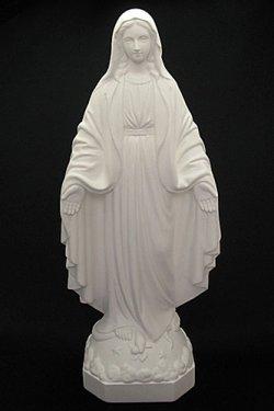 画像2: 無原罪の聖母像 (高さ33cm)