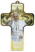 教皇フランシスコの板絵十字架
