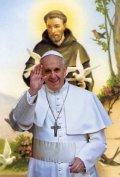 教皇フランシスコのポストカード B (2枚組)  ※返品不可商品