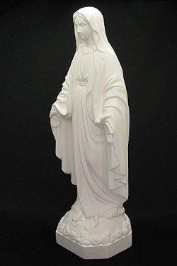 画像3: 無原罪の聖母像 (高さ33cm)