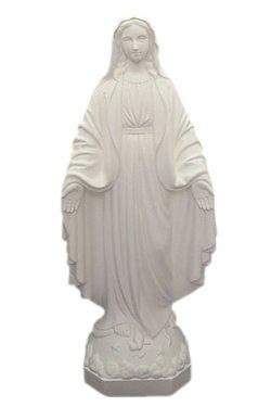 画像1: 無原罪の聖母像 (高さ33cm)