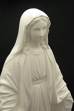 画像5: 無原罪の聖母像 (高さ33cm)