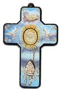 聖霊の鳩デコパージュ十字架