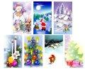 クリスマスカード 7枚セット