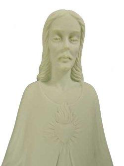 画像2: 【特価】イエスの聖心立像 白色