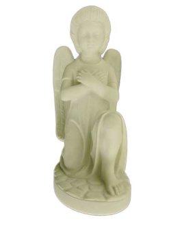 画像2: 【在庫限り】天使座像(左膝) 白色