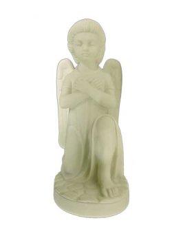 画像1: 【在庫限り】天使座像(左膝) 白色