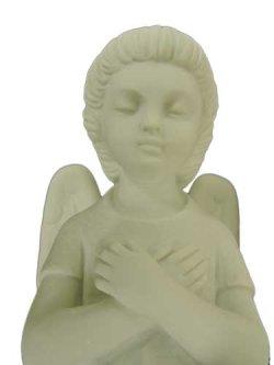 画像3: 【在庫限り】天使座像(左膝) 白色