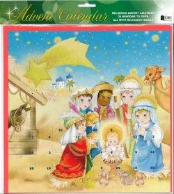画像1: イギリス製アドベントカレンダー 封筒付 ※返品不可商品