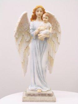 画像1: 聖像 幼子と天使立像 No.52694