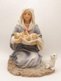 画像1: 聖像 聖母子 No.52702