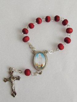 画像3: イタリア直輸入 ファティマの聖母の一連ロザリオ(薔薇の香り付)
