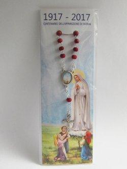 画像2: イタリア直輸入 ファティマの聖母の一連ロザリオ(薔薇の香り付)