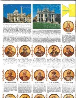 画像2: 266代の歴代教皇特大ポスター