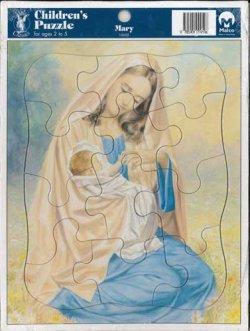画像1: 聖画ジグソーパズル(Mary)