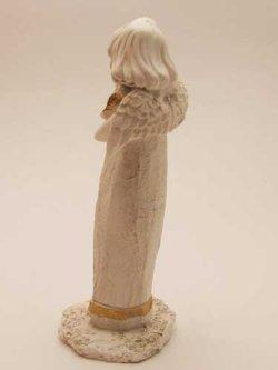 画像3: レジン製置物 鳩に語りかける天使
