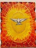 ガラス製置物 聖霊の鳩(大)