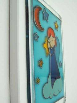 画像3: ガラス製 天使の壁掛け