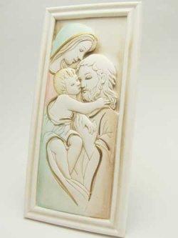 画像2: レジン製 聖家族の卓上飾り