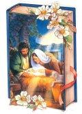 二つ折りミニクリスマスカード 0665-1 ※返品不可商品