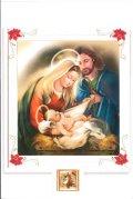 二つ折りクリスマスカード 0637-2 ※返品不可商品