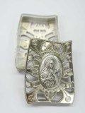 メタル製ロザリオ入れ・幼いイエスの聖テレジア