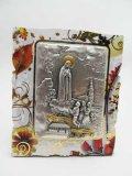 イタリア直輸入ファティマの聖母と3人の牧童の卓上飾り