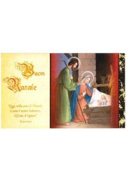 画像1: イタリア製クリスマスシングルカード ※返品不可商品