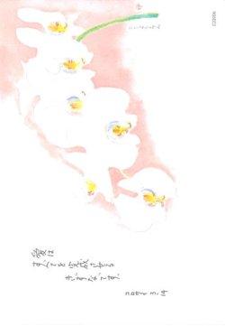 画像1: 花と祈りポストカード 胡蝶蘭 (5枚組)