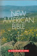 NEW AMERICAN BIBLE St.Joseph MEDIUM SIZE Edition