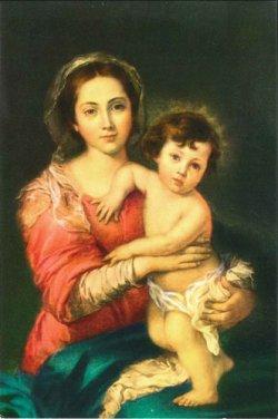 画像1: フィデスポストカード 聖母子 (5枚組)