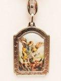 イタリア製キーホルダー 大天使聖ミカエル  ※返品不可商品