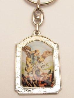 画像3: イタリア製キーホルダー 大天使聖ミカエル  ※返品不可商品