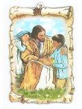 イエスと子どもたちのデコパージュ