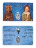 不思議のメダイカード(フランシスコとクララ) B