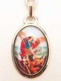 メタルキーホルダー 大天使聖ミカエル