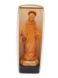 画像4: イタリア製木彫り像(無原罪の聖母)