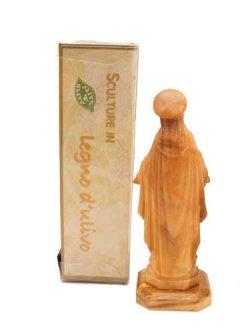 画像5: イタリア製木彫り像(無原罪の聖母)