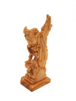 画像2: イタリア製木彫り像(大天使聖ミカエル)
