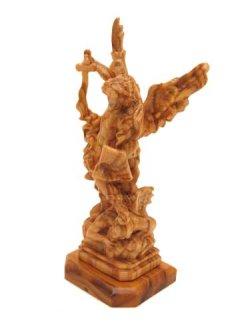 画像3: イタリア製木彫り像(大天使聖ミカエル)
