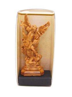 画像4: イタリア製木彫り像(大天使聖ミカエル)